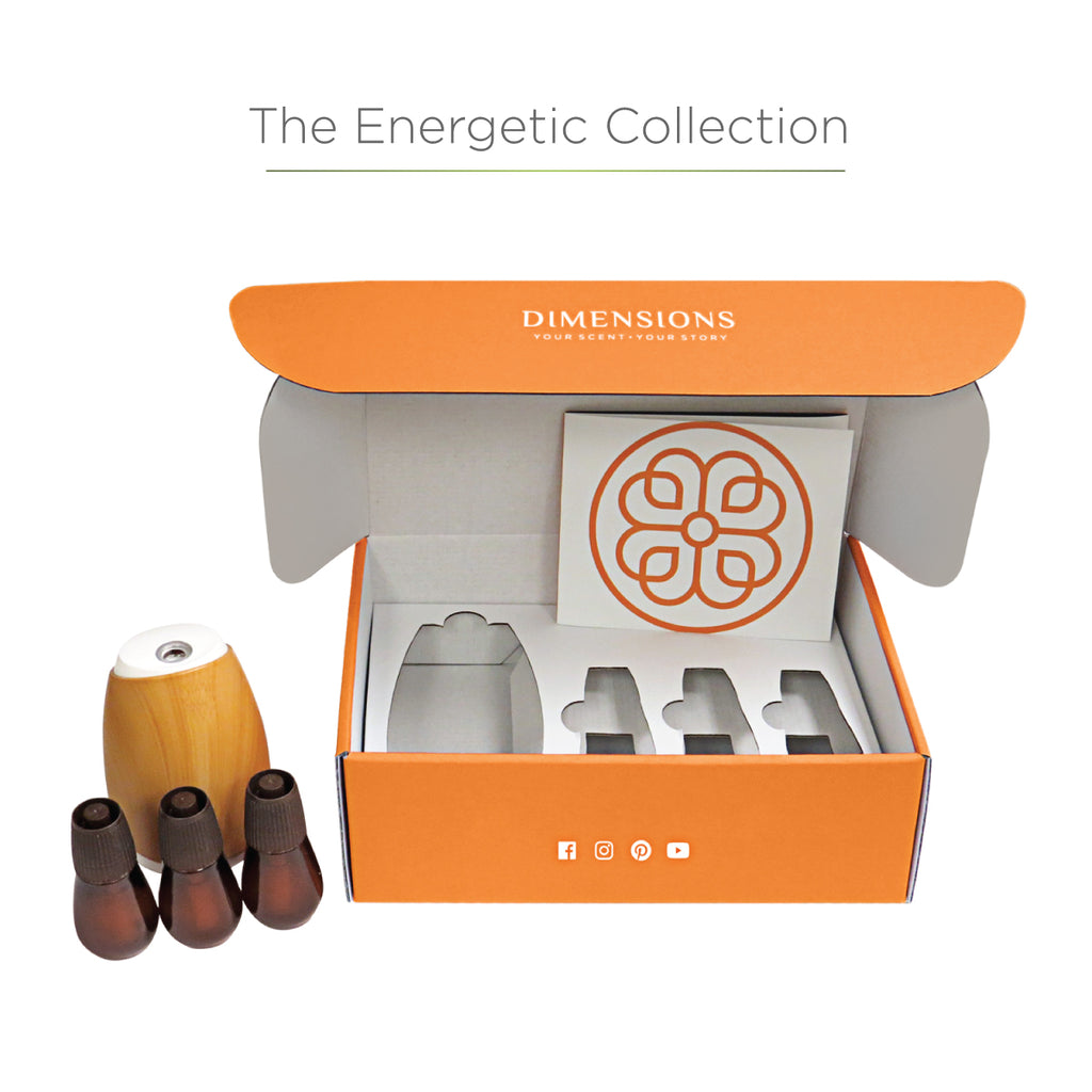 Energetic Aromatherapy Collection with Diffuser