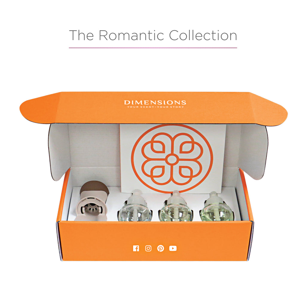 Romantic Aromatherapy Collection with Fragrance Plug-in