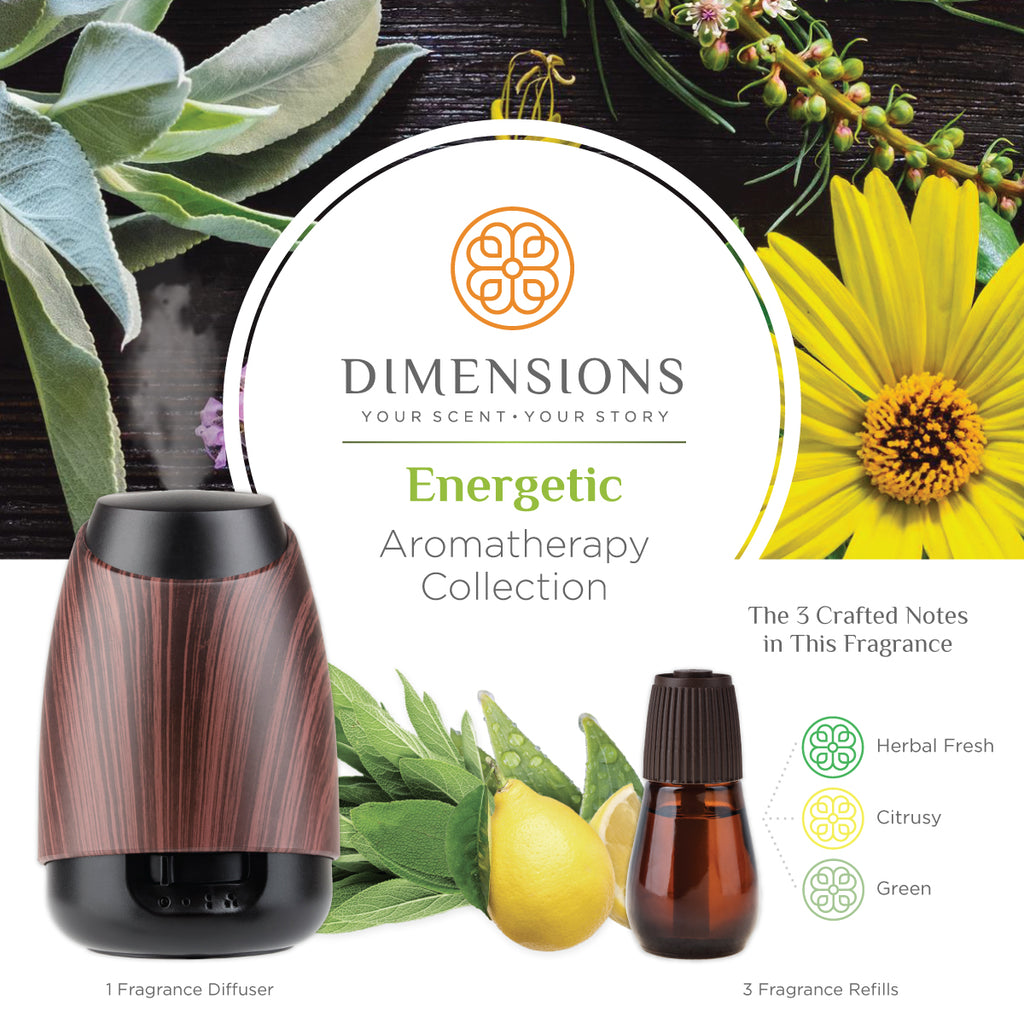 aromatherapy diffuser- energy
