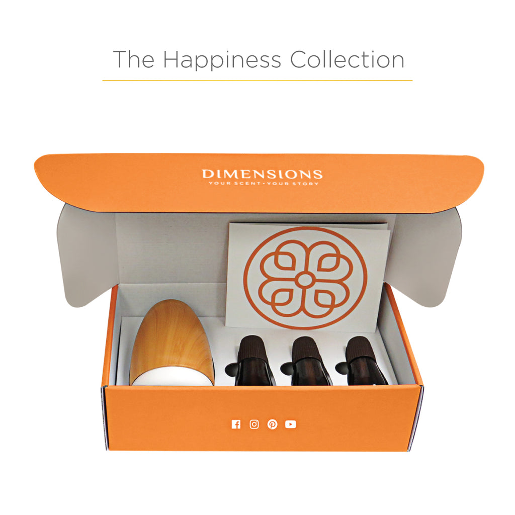 Happiness Aromatherapy Collection with Diffuser