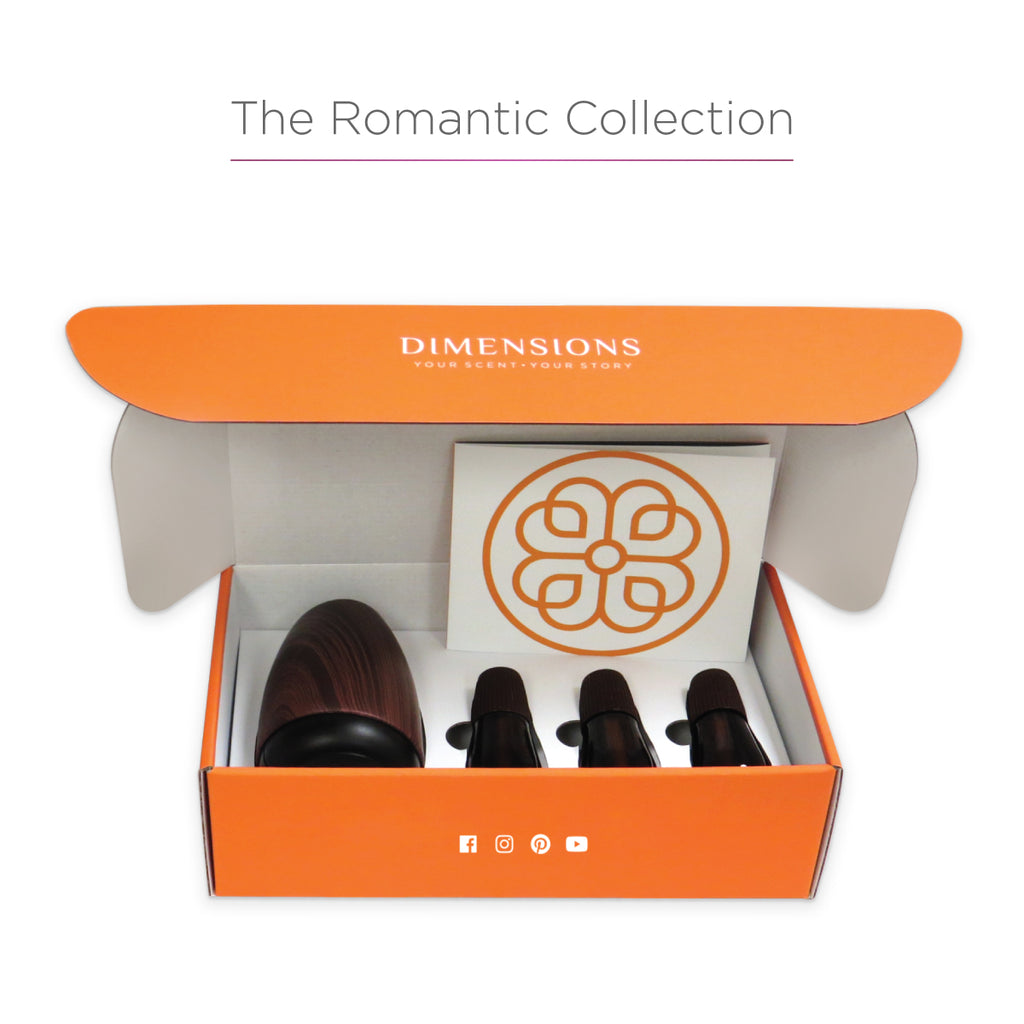 Romantic Aromatherapy Collection with Diffuser