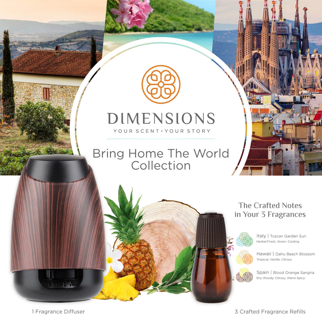 Bring Home the World Collection with Diffuser