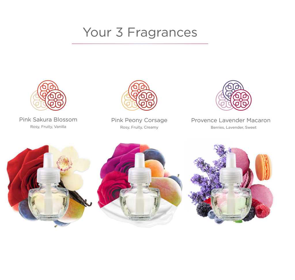 Flower Bouquet Collection - Fragrance Plug-in Refills