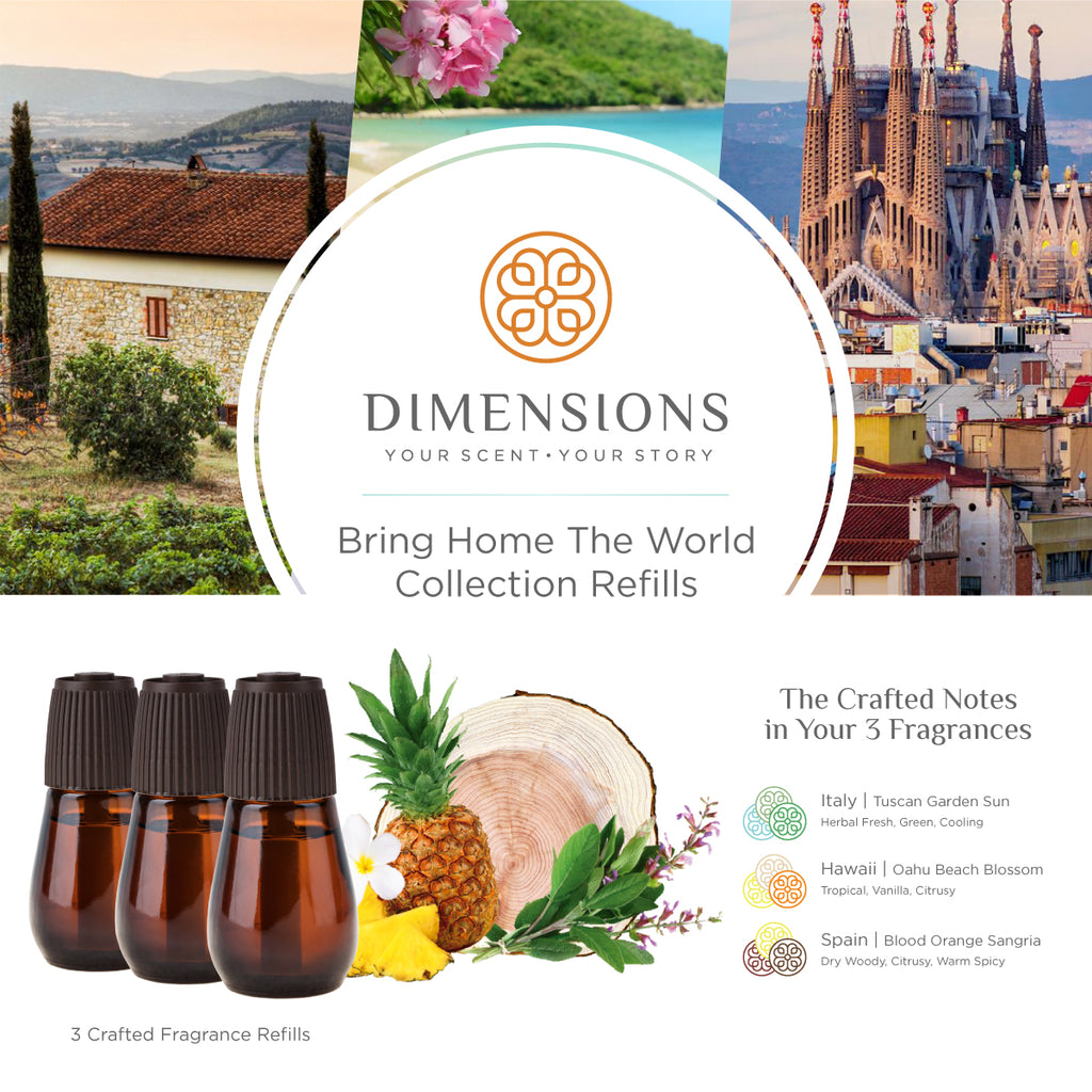 Bring Home the World Collection - Diffuser Refills
