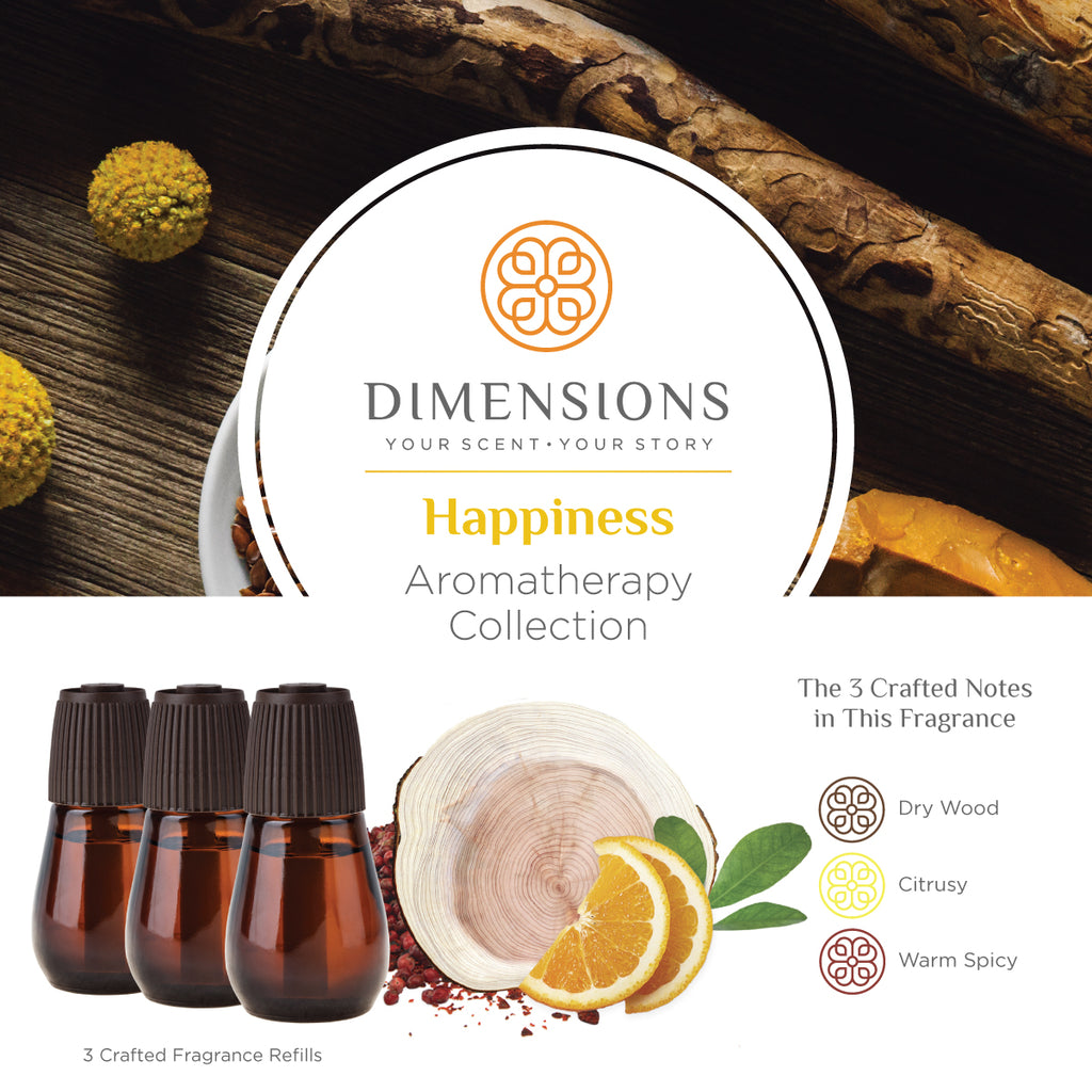 Happiness Aromatherapy Collection - Diffuser Refills