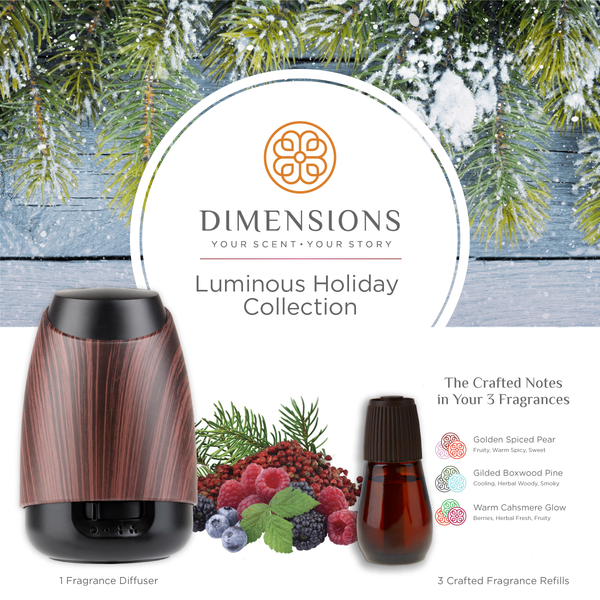 Luminous Holiday Collection with Diffuser