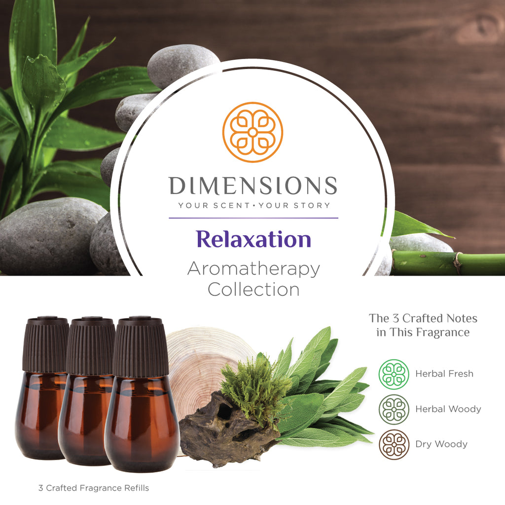 Relaxation Aromatherapy Collection - Diffuser Refills