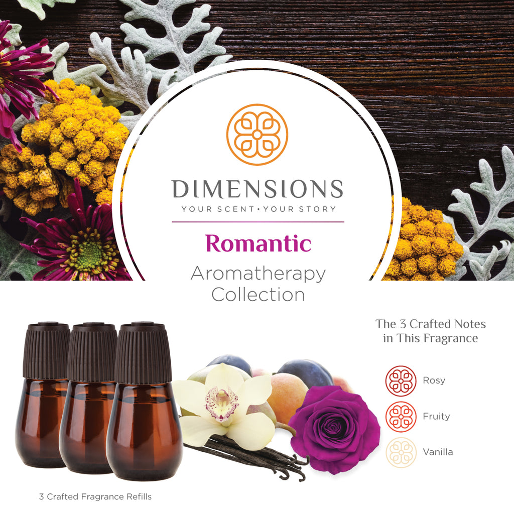 Romantic Aromatherapy Collection - Diffuser Refills