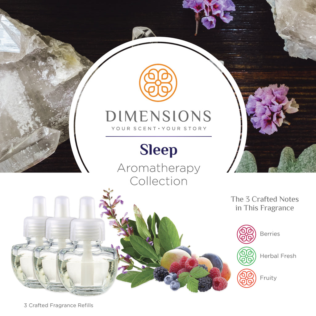 Sleep Aromatherapy Collection - Fragrance Plug-in Refills