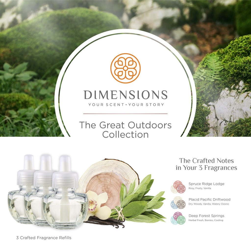 The Great Outdoors Collection - Fragrance Plug-in Refills