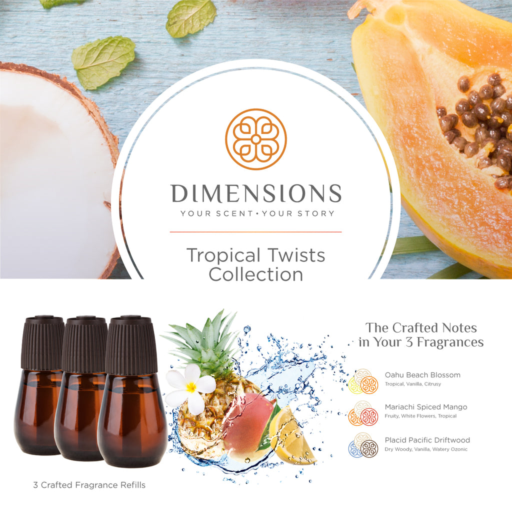 Tropical Twists Collection - Diffuser Refills