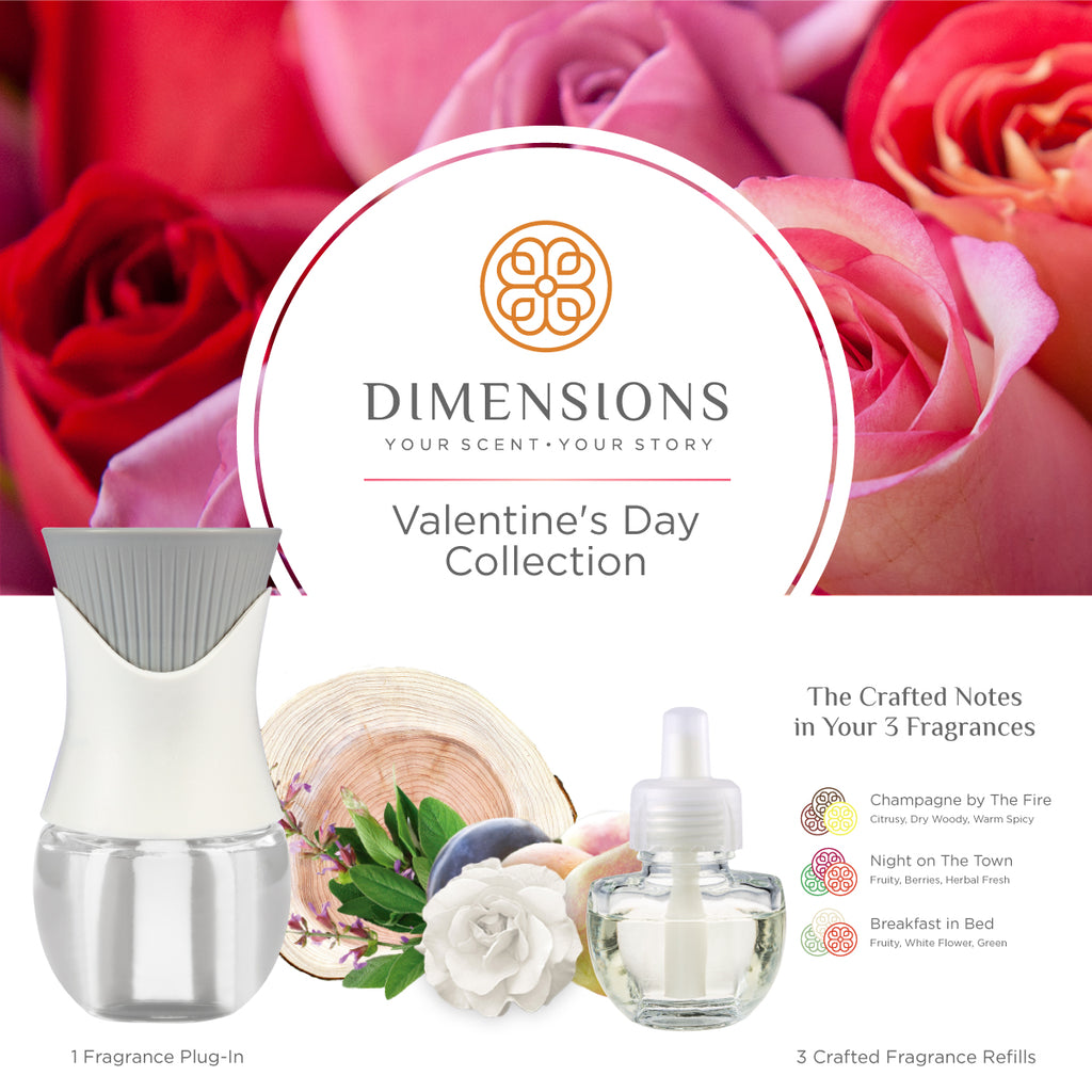 Valentine's Day Collection with Fragrance Plug-in