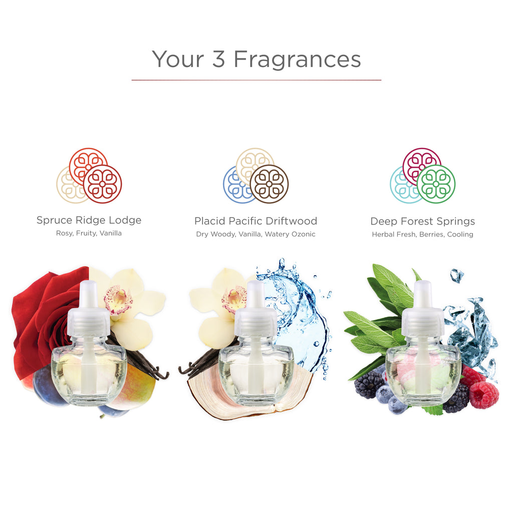 The Great Outdoors Collection with Fragrance Plug-in