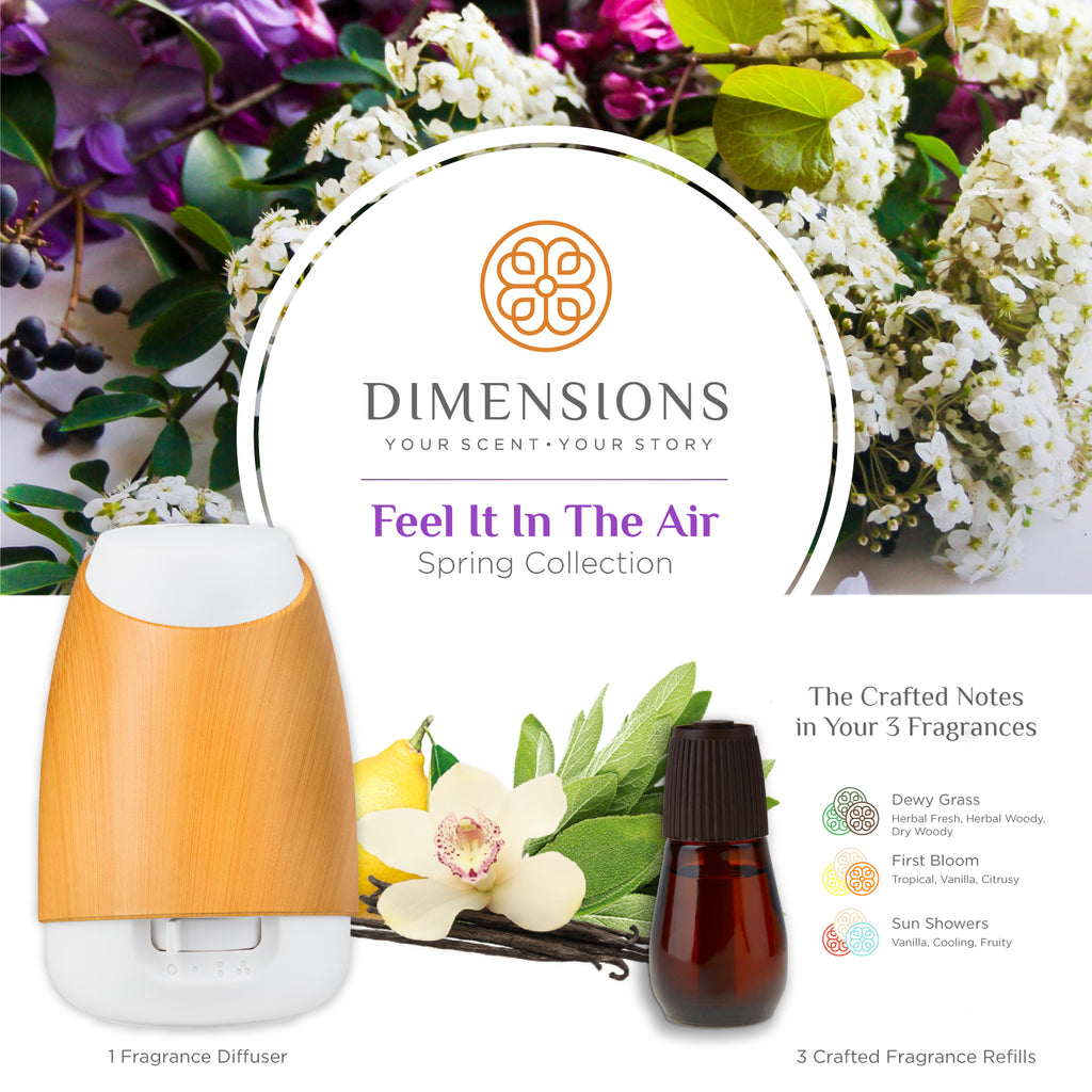 Feel It In The Air Spring Collection with Diffuser