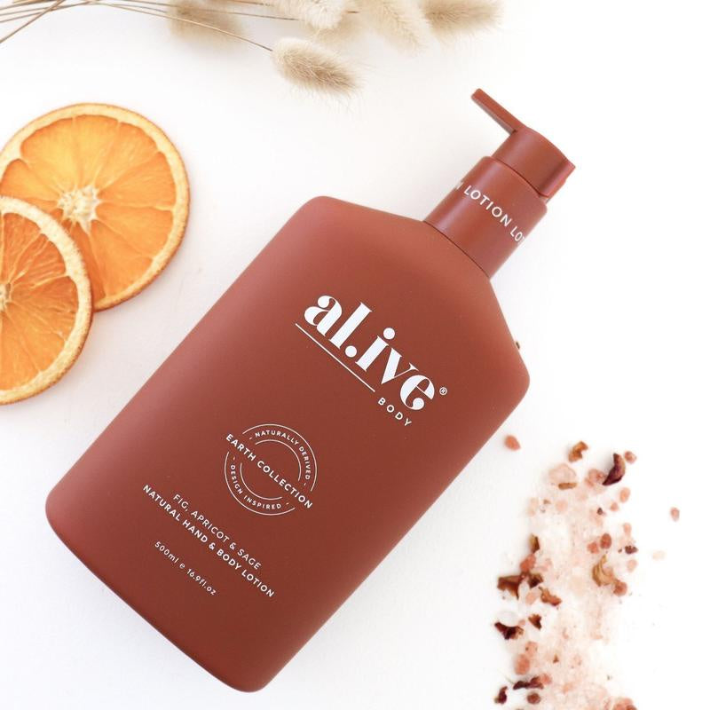 AL.IVE HAND & BODY LOTION FIG APRICOT SAGE