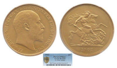 GB Edward VII 1902 5pound