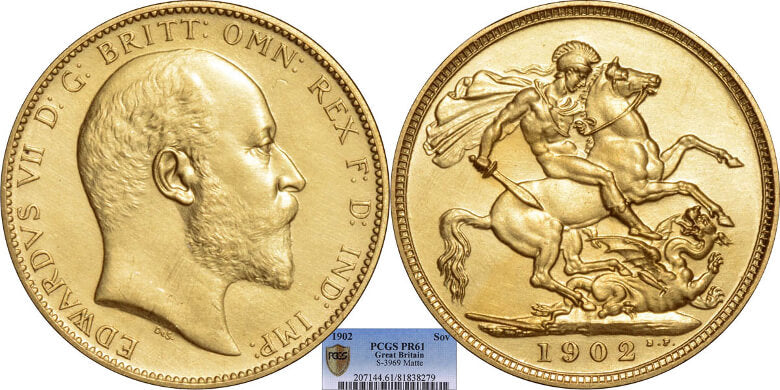 Edward VII 1902 Sovereign