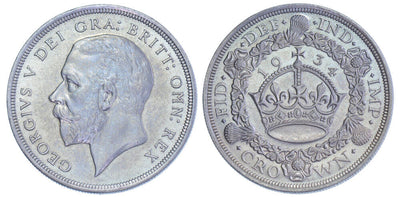 GB GeorgeV 1934 Crown