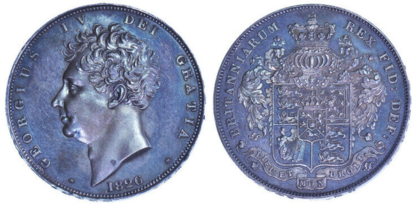 GB George IV 1826 Crown