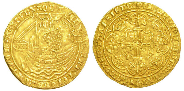 GB EDWARD III NOBLE 1361-1369