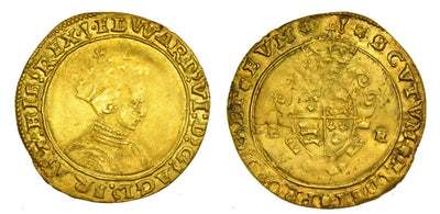 GB Edward HALF SOVEREIGN 1549