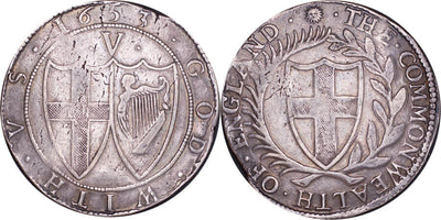 GB Commonwealth CROWN 1653