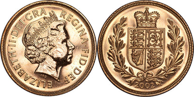 GB Elizabeth II 2002 Sovereign