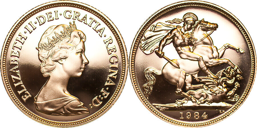GB Elizabeth II 1984 Sovereign Proof