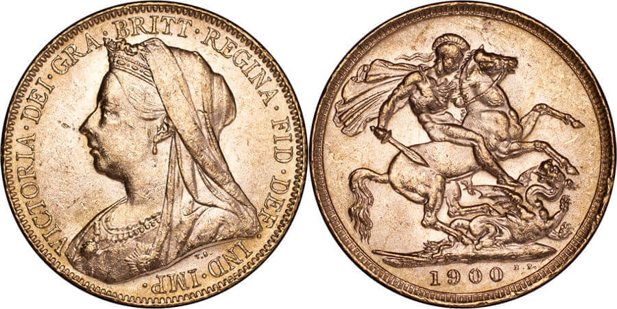 GB Victoria 1900 Sovereign