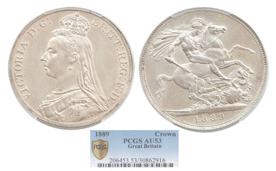 GB Victoria 1889 Crown