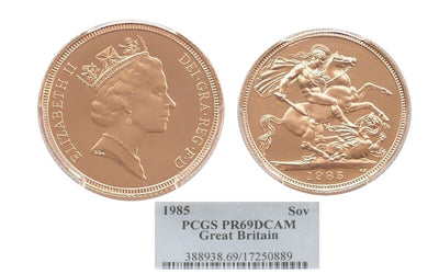 GB 1985 St George Sovereign