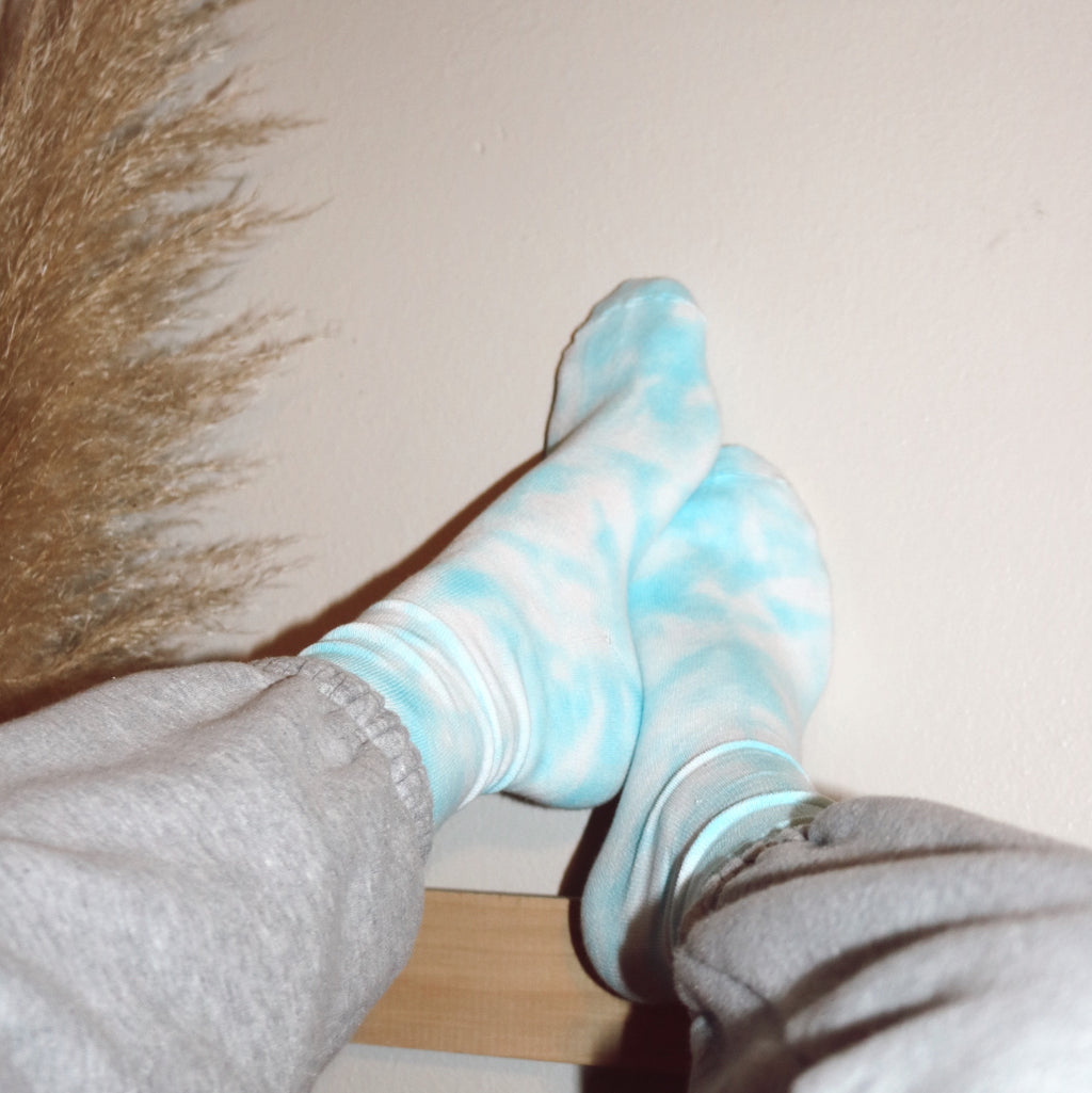 Tie Dye Fitted Socks