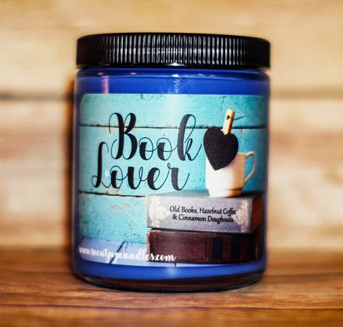 Book Lover, Reader Inspired Soy Candle
