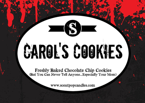 Carol's Cookies, The Walking Dead Inspired Soy Candle