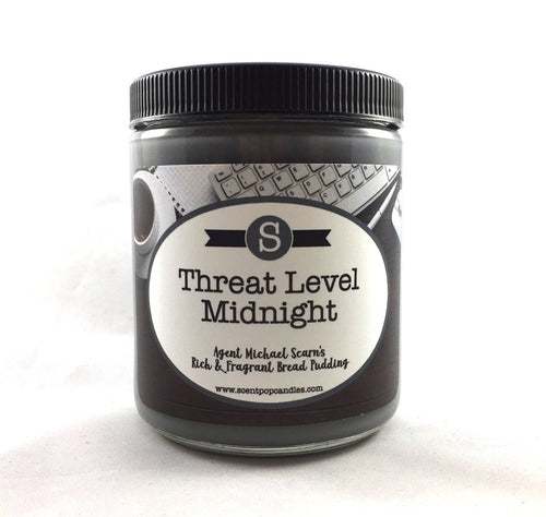 Threat Level Midnight, Michael Scott, The Office Inspired Soy Candle