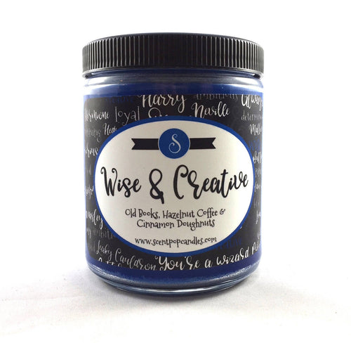 Wise & Creative, Wizard Inspired Soy Candle