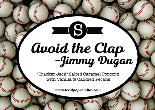 Avoid the Clap-Jimmy Dugan, A League of Their Own Inspired Soy Candle