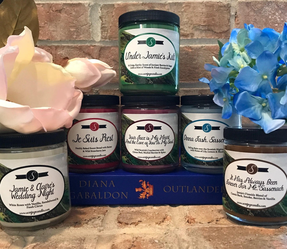 Jamie & Claire's Wedding Night, Outlander Inspired Soy Candle