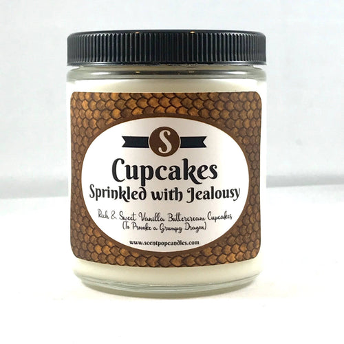 Cupcakes Sprinkled With Jealousy, Mystic Bayou, Molly Harper Inspired Soy Candle