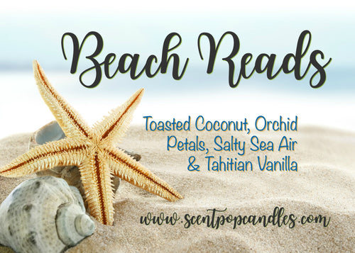 Beach Reads, Reader Inspired Soy Candle