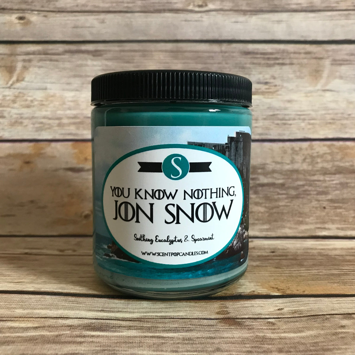 Jon Snow, Game of Thrones Inspired Soy Candle