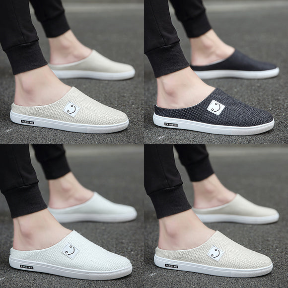 9bc97306192 2018 new Korean version of the trend of low help shoes wild casual boys  canvas shoes