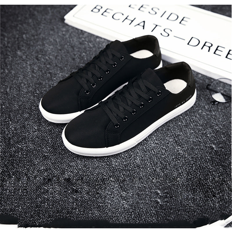 ee5631051fa7 ... Trendy Breathable Joker Sneakers Men s Casual White Tide Shoes White  Shoes Men   ...