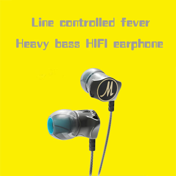 a504dc9346c Special Edition Gold Plated Housing Headset Noise Isolating HD HiFi Earphone