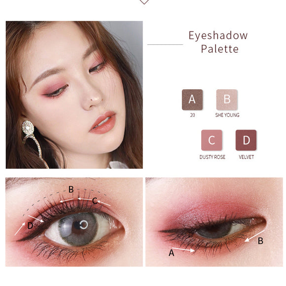 3efee82d58e 12-color marble eye shadow disc tb718