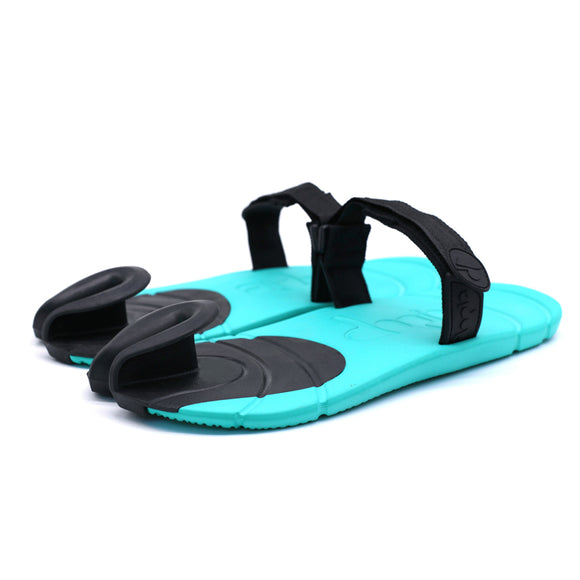 4c7fef037e6 British New Fashion Couple Slipper Toe Slippers Beach Lazy Non-slip sandals