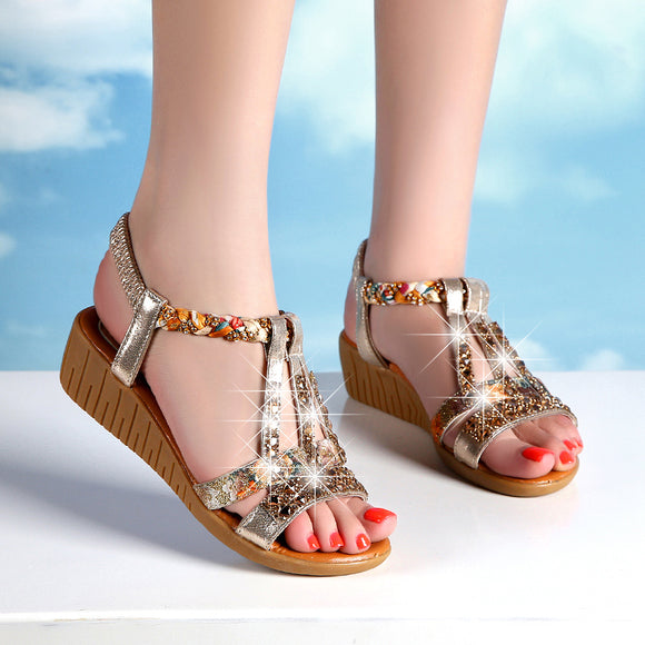 1bdfcb59018 2018 new fashion wild rhinestone shoes