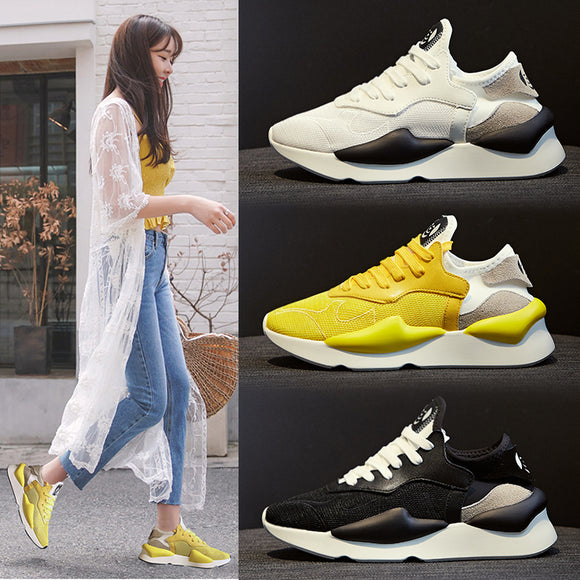 c1c588da5a9 2018 summer new women s shoes Korean version of the wild student running  shoes