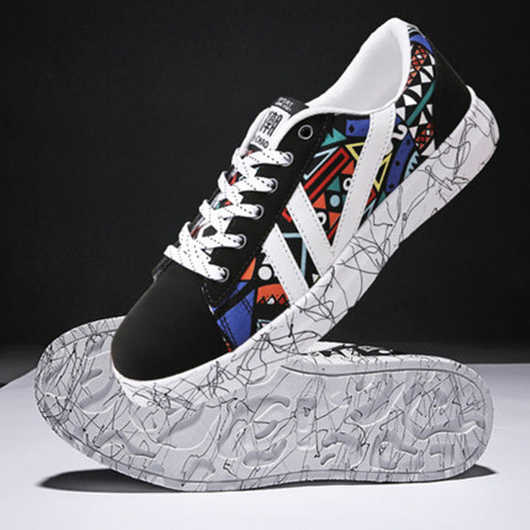 6500fbe4ca3 2018 new Korean version of the trend ins super fire wild canvas casual shoes