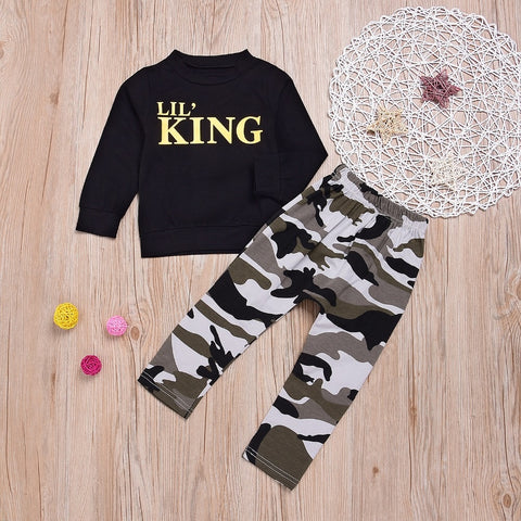 Infant/Toddler Lil King 2-Piece Set